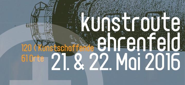 kunstroute ehrenfeld 2016 flyer